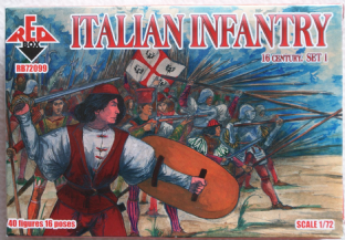 Red Box 1/72 RB72099 Italian Infantry Set 1 (16th Century)